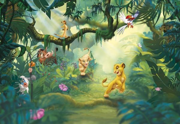 Fototapet 8-475 Lion King Jungle 0