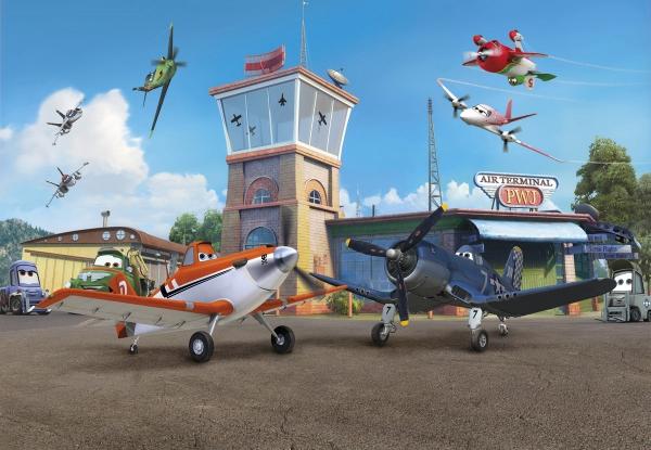 Fototapet 8-469 Planes Terminal 0