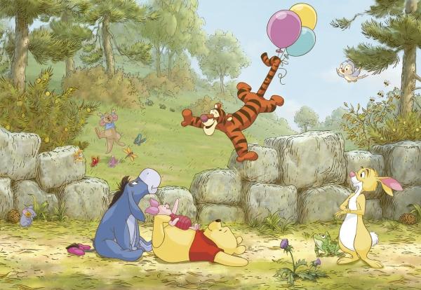 Fototapet 8-460 Winnie Pooh Ballooning 0
