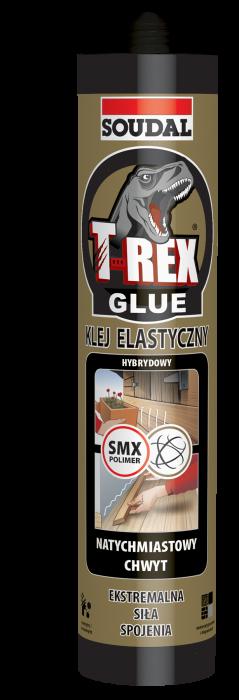 Soudal T-Rex Gold Power - adeziv flexibil pentru profile decorative 0