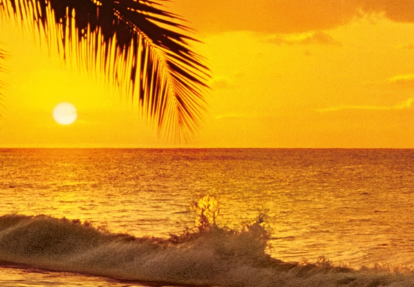 Fototapet 00218 Apus de soare in Pacific 1