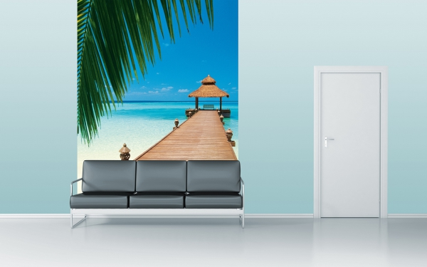 Fototapet 00376 Plaja Paradis 2