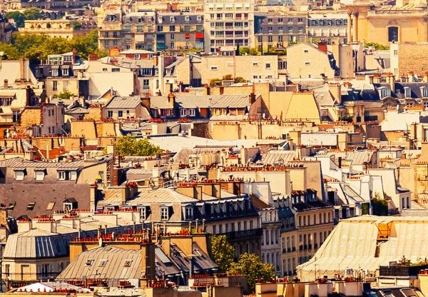Fototapet 00950 Paris - panorama 1