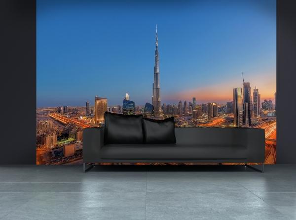 Fototapet 00973 Dubai - Burj Khalifah 2