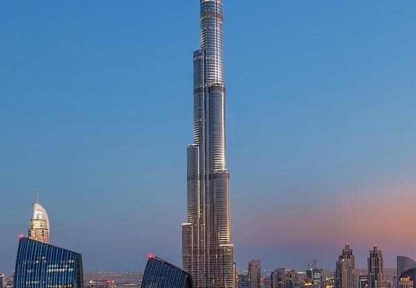 Fototapet 00973 Dubai - Burj Khalifah 1