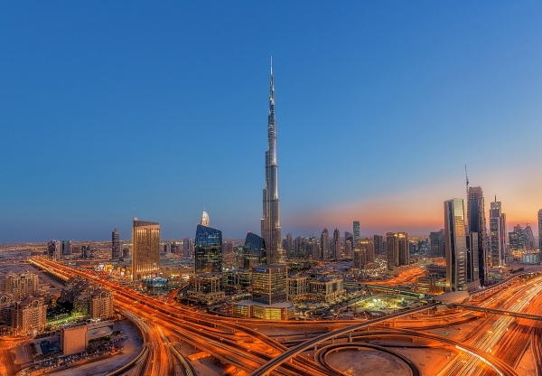 Fototapet 00973 Dubai - Burj Khalifah 0