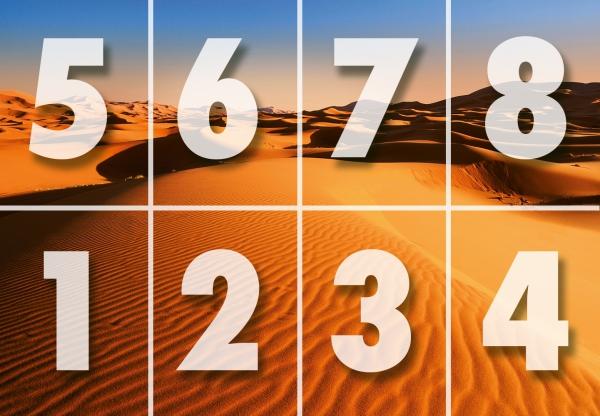 Fototapet 00976 Peisaj din desert 3