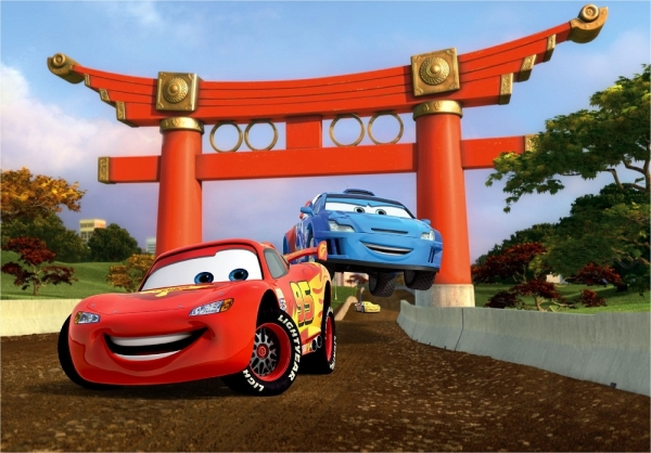 Fototapet FTDxxl 0256 Cars, cursa in China 0