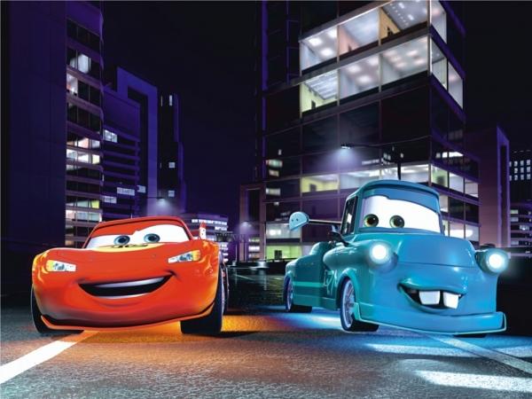 Fototapet FTDxxl 0245 Prietenii Cars 0