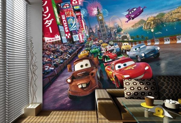 Fototapet FTDxxl 2216 Cars, grila de start 1