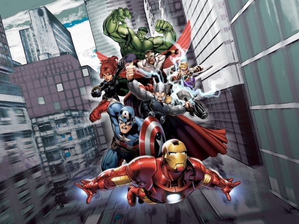 Fototapet FTDxxl 2214 The Avengers 0