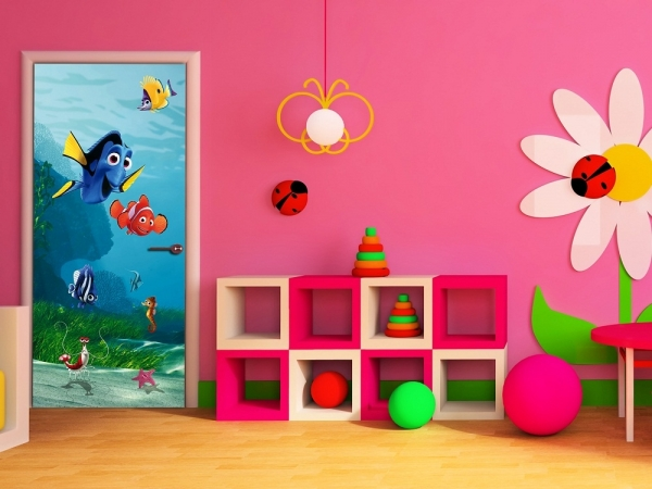 Fototapet FTDv 1808 Nemo & Dory 1