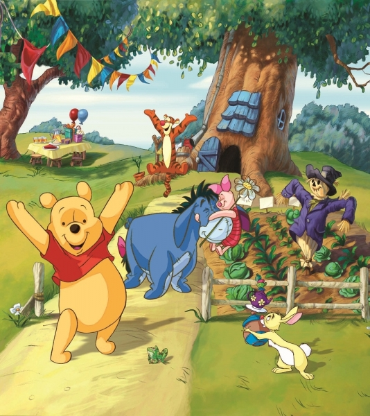 Fototapet FTDxl 1911 Winnie the Pooh