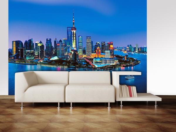 Fototapet 00135 Panorama Shanghai 2