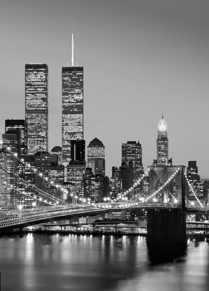 Fototapet 00388 Manhattan Noaptea 0