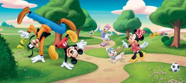Fototapet FTDh 0623 Mickey & Goofy 0