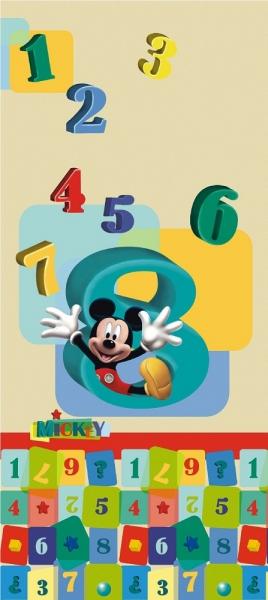 Fototapet FTDv 0243 Mickey si numerele 0
