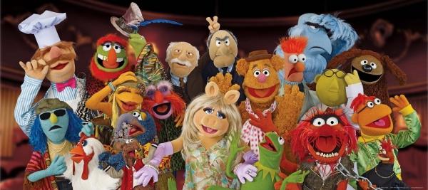 Fototapet FTDh 0609 Muppets 0