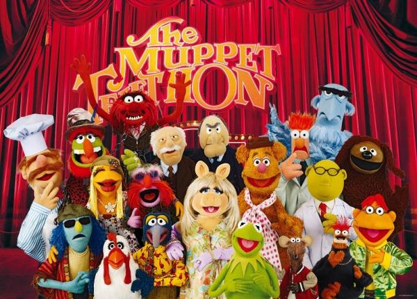 Fototapet FTDm 0707 Papusile Muppets 0