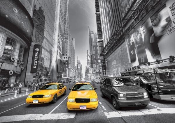 Fototapet FTS 1310 Yellow Cab 0