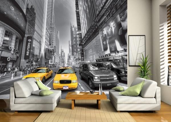Fototapet FTS 1310 Yellow Cab 1