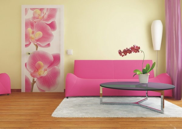 Fototapet FTV 0027 Orhidee roz 1