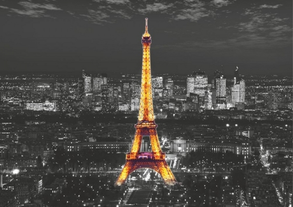 Fototapet FTS 1316 Eiffel noaptea 0