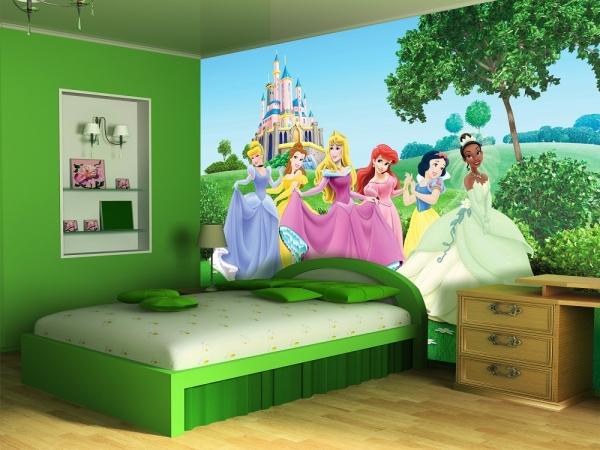 Fototapet FTDxxl 0249 Printesele Disney 1