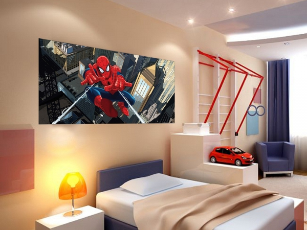 Fototapet FTDh 0632 Spiderman la inaltime