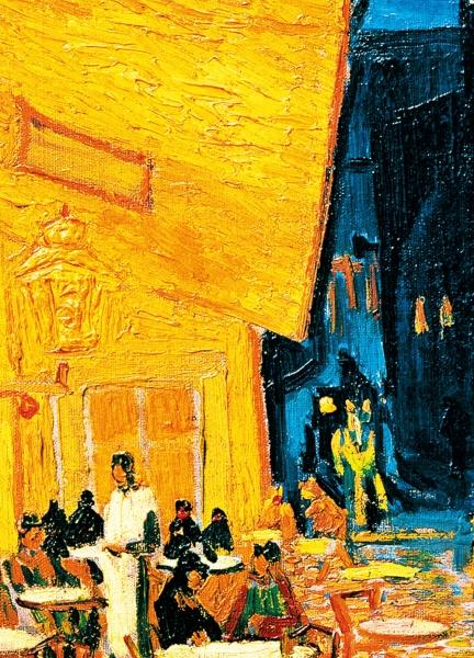 Fototapet 00420 Terasa Cafenelei Noaptea - Van Gogh 1