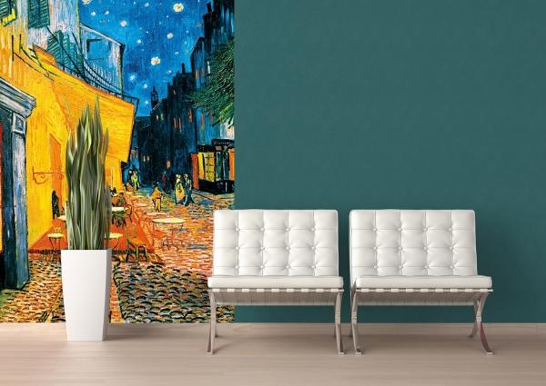 Fototapet 00420 Terasa Cafenelei Noaptea - Van Gogh 2