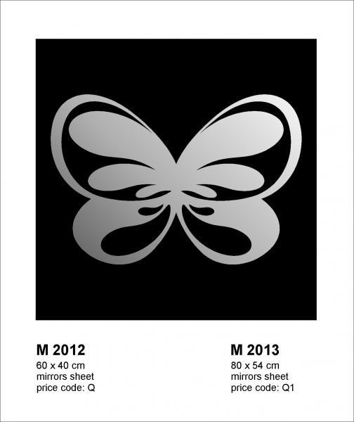 Oglinda M2012 Fluture