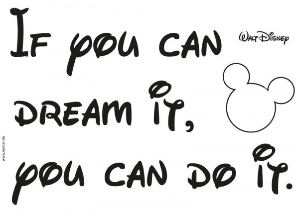 Sticker decorativ 14002 You can do it 1