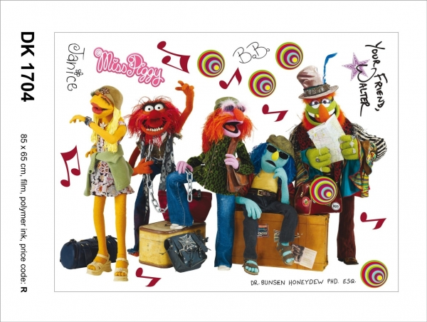 Sticker decorativ DK1704 Muppets 0