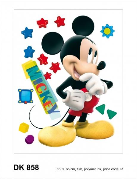 Sticker decorativ DK858 Mickey Mouse 0