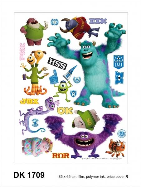 Sticker decorativ DK1709 Monsters 0