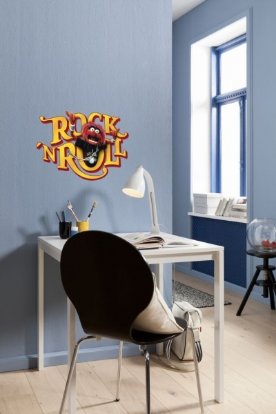 Sticker decorativ 14010 Muppets Rock'n Roll 0