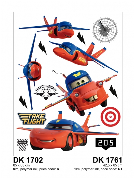 Sticker decorativ DK1761 Cars & Planes 0