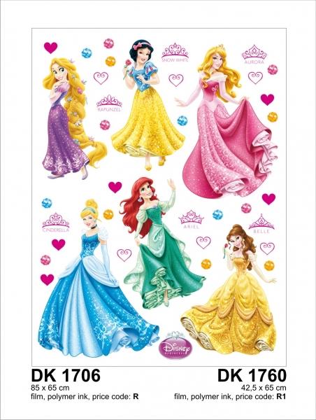 Sticker decorativ DK1760 Printese Disney 0