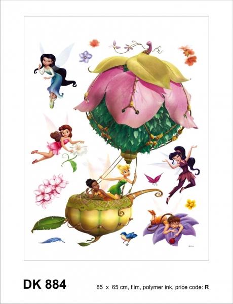 Sticker decorativ DK884 Tinkerbell 0