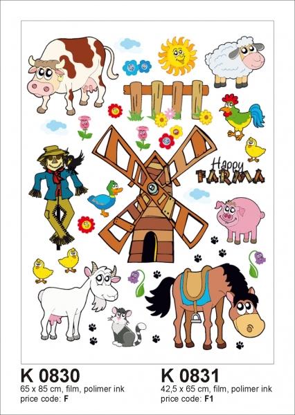 Sticker decorativ K0830 Ferma 0