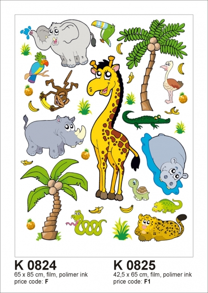 Sticker decorativ K0824 Jungla 0