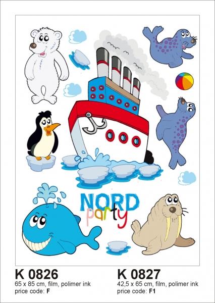 Sticker decorativ K0827 Polar