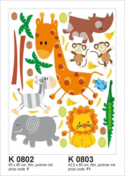 Sticker decorativ K0802 Animale 0