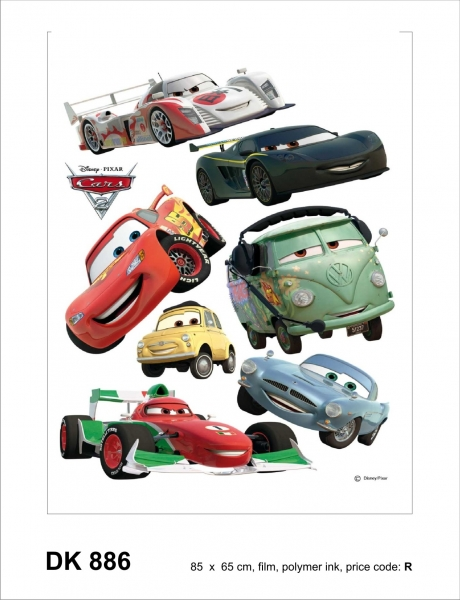 Sticker decorativ DK886 Cars