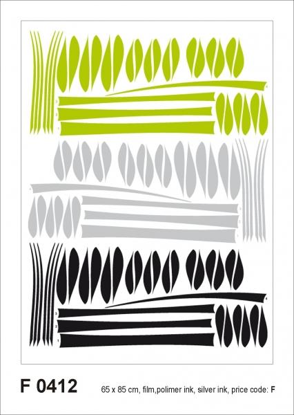 Sticker decorativ F0412 Bamboo 0