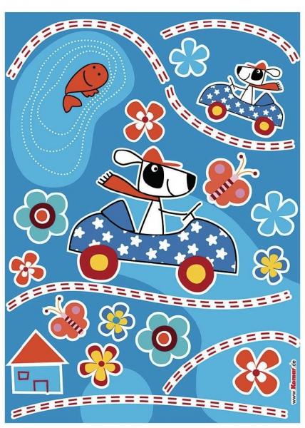 Sticker decorativ 17003 Dog's Day 1