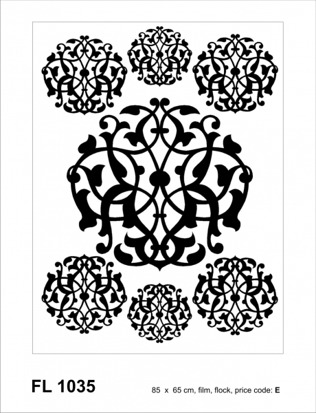 Sticker decorativ FL1035 Baroc
