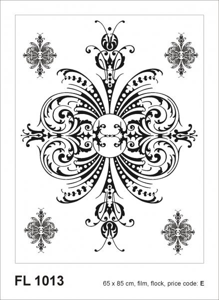 Sticker decorativ FL1013 Clasic