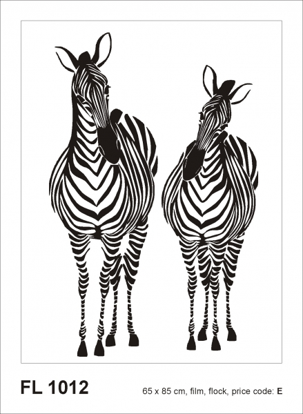 Sticker decorativ FL1012 Girafe 0